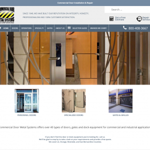 Commercial Door Metal Systems